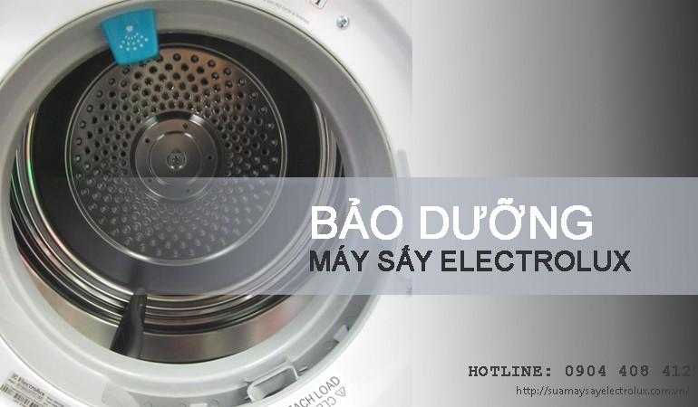 Bảo dưỡng máy sấy Electrolux ở đâu sạch nhất?