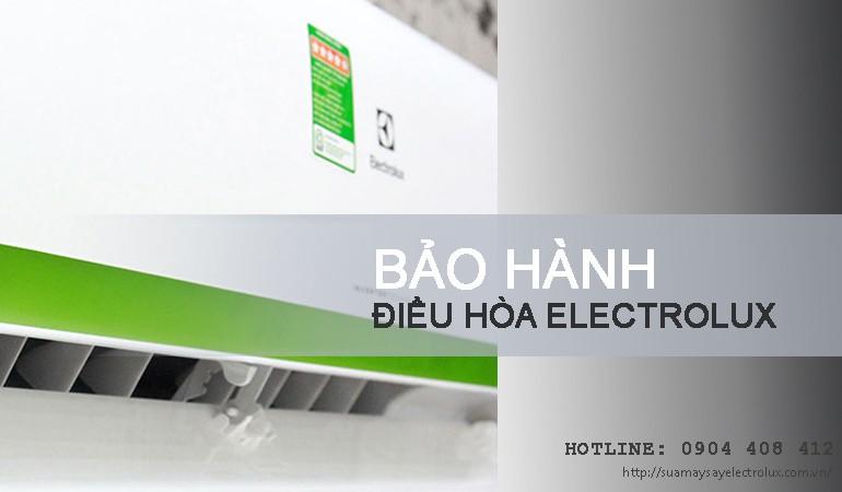 Bảo hành điều hòa Electrolux