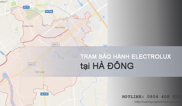 Bảo hành Electrolux tại Hà Đông