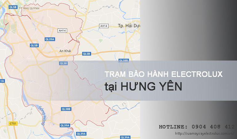 Bảo hành Electrolux tại Hưng Yên