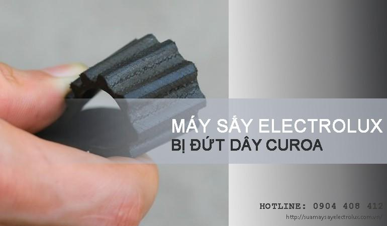 Máy sấy Electrolux bị đứt dây curoa phải làm sao?
