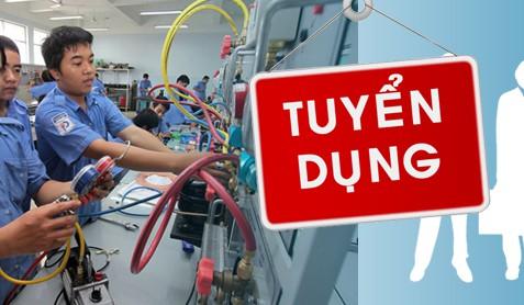 Tuyển thợ phụ điện lạnh tại Hà Nội