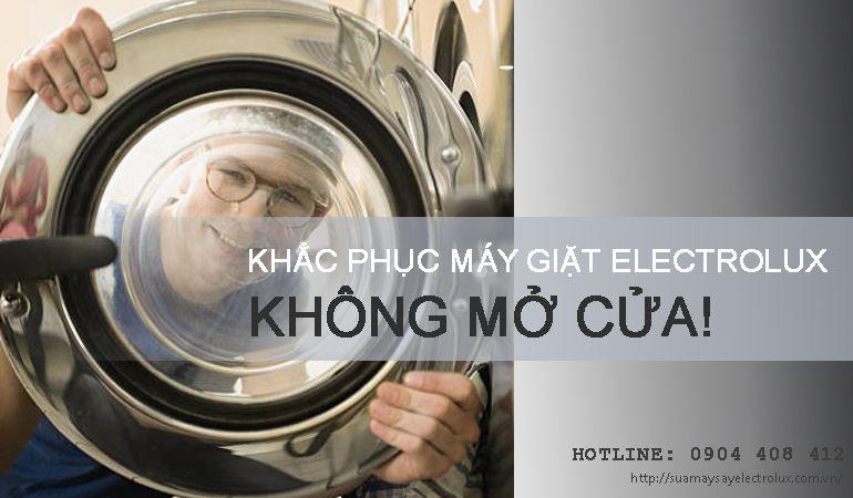 Lỗi máy giặt Electrolux không mở được cửa thường gặp ở tất cả các đời máy. Đọc ngay bài viết để biết cách khắc phục lỗi máy giặt Electrolux bị kẹt cửa nhé!