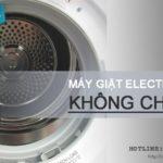 Máy giặt Electrolux không chạy và cách khắc phục trong 1 NỐT NHẠC