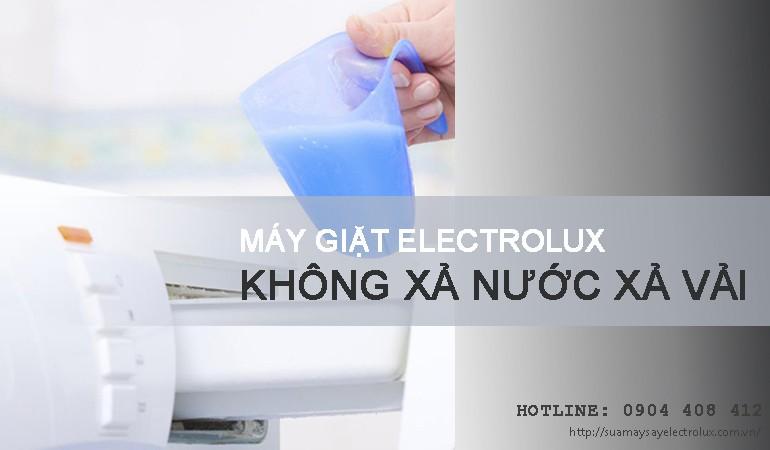 Máy giặt Electrolux không xả nước xả vải và cách xử lý TRIỆT ĐỂ 100%