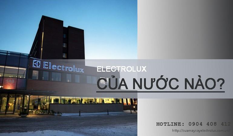 Electrolux của nước nào?