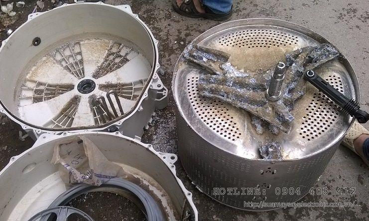 Quy trình thay bi máy giặt Electrolux