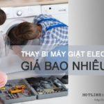 Thay bi máy giặt Electrolux ở đâu tốt nhất? Giá bao nhiêu tiền?