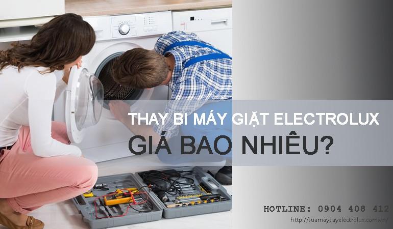 Thay bi máy giặt Electrolux